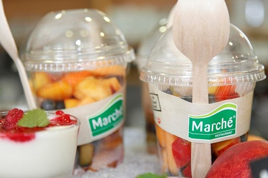 Marche Bistro Airport Berlin Schoenefeld: Take Away Obst