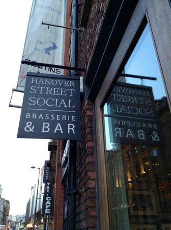 Hanover Street Social : Outside