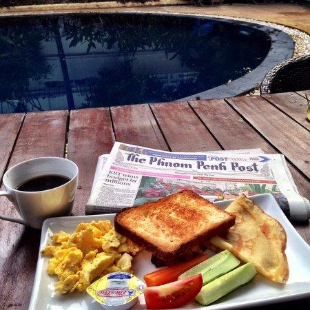 The Billabong Hotel: Breakfast