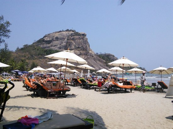 Anantasila Villa by the Sea, Hua Hin : Beach view