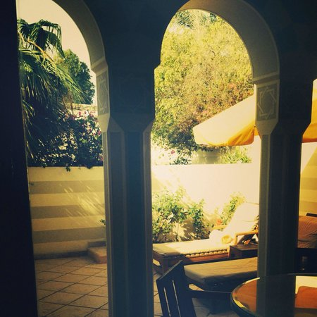 The Oberoi Sahl Hasheesh: Your own private tanning space