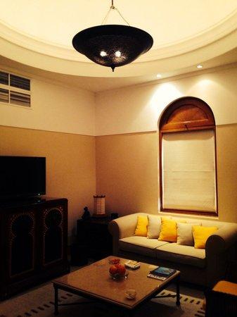 The Oberoi Sahl Hasheesh : Living space