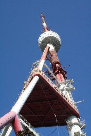 Mtatsminda Amusement Park: Tower - not accessible