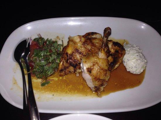 Ottoman Cuisine: Saffron chicken - best of the night!