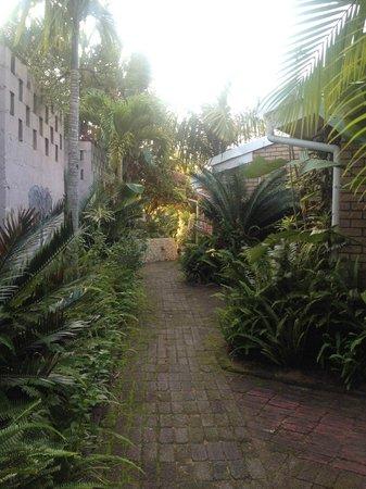 St. Lucia Safari Lodge: территория отеля