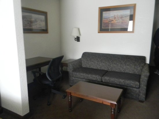 Holiday Inn Express & Suites Mt Rushmore / Keystone: Fold Out Couch
