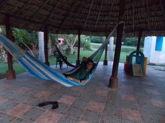 Hotel Dolores Alba Chichen: гамак в отеле