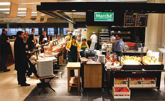 Marché Airport Hamburg: Ansicht 2