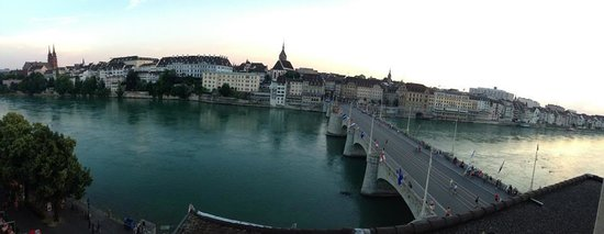 Hotel Merian am Rhein: View from our room