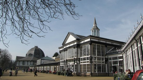 Cafe at The Green Pavilion: The Pavilion, Buxton Gardens