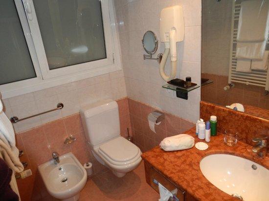 Hotel Tritone: il bagno