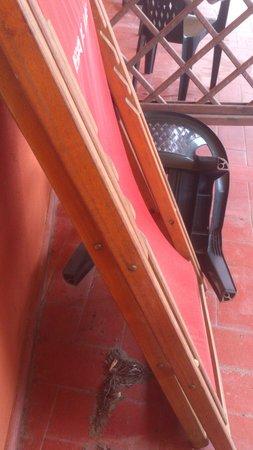 Hotel Club Resort Regina del Mare: il patio abbandonato 2
