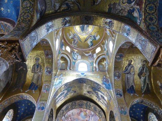 Palazzo dei Normanni: Cappella Palatina central apse