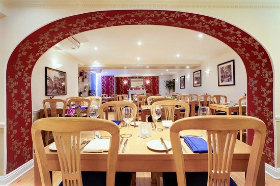 BEST WESTERN Wessex Royale Hotel: Restaurant
