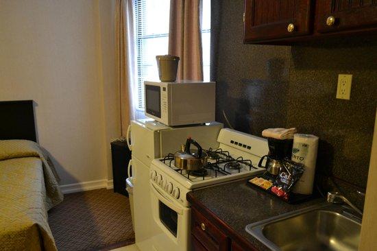 Radio City Apartments: Your Own Kitchen!