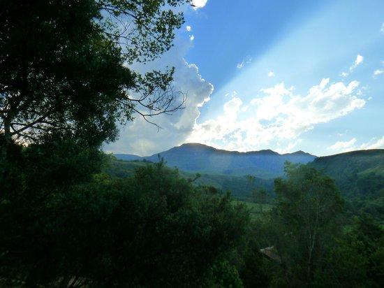 Drakensberg Sun Resort : Magical sunset