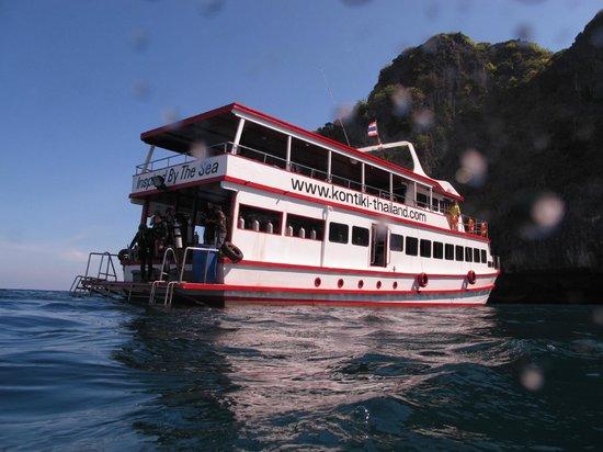 Kon-Tiki Krabi Diving & Snorkeling Center - Krabi: Båten