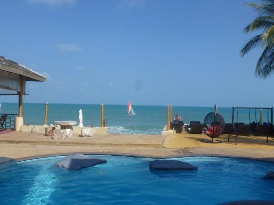 Samui Beach Resort: view from beach front room 10