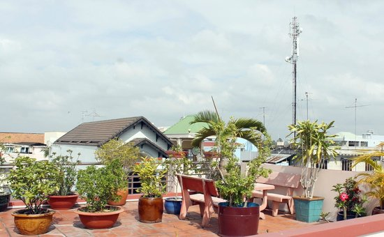 Murray Guesthouse : Roof top guest areas