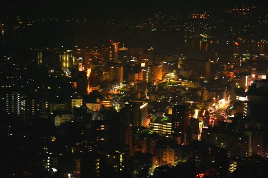 Hotel Nagasaki: ホテルからの夜景