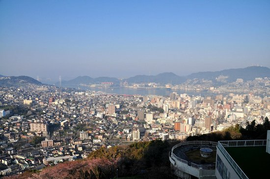 Hotel Nagasaki: ホテルからの眺め