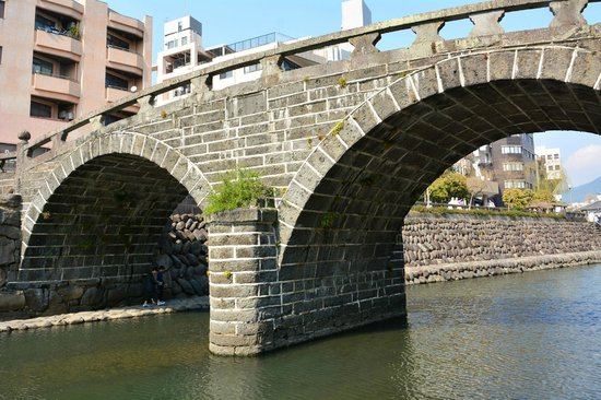 Spectacles Bridge (Meganebashi): 眼鏡橋