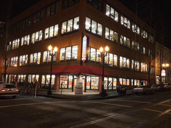 Powell's City of Books: Powell's at Night