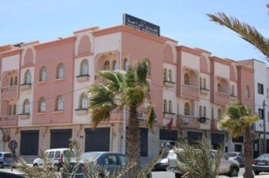 Hotel Erraha : façade hôtel