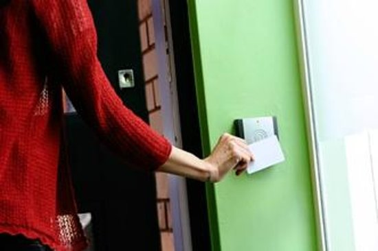 Park House Women's Hostel: Key Card Access