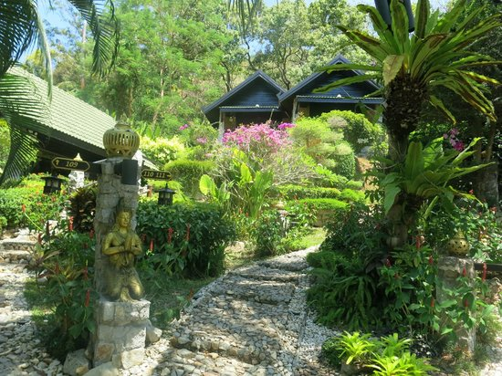 Boomerang Village Resort : Path to the room