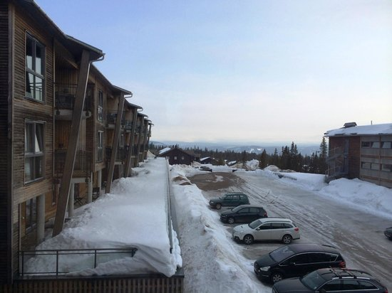 Radisson Blu Mountain Resort & Residences Trysil: View from room