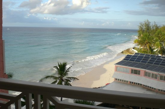Barbados Beach Club: View from hotel balcony
