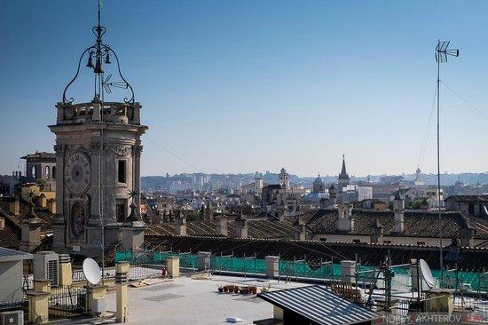 Navona Queen : Вид с крыши отеля