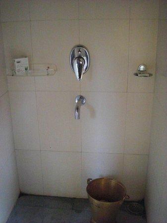 Infinity Resort Bandhavgarh: indoor shower