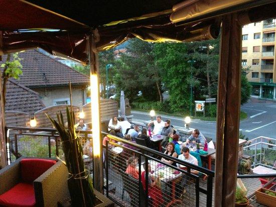 RESTAURANT LE VIRTUOZ : Un soir d'été