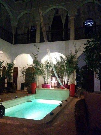 Riad Mandalay : Cortile interno
