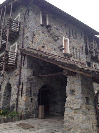 La Brace Hotel Ristorante: Esterno ingresso hotel
