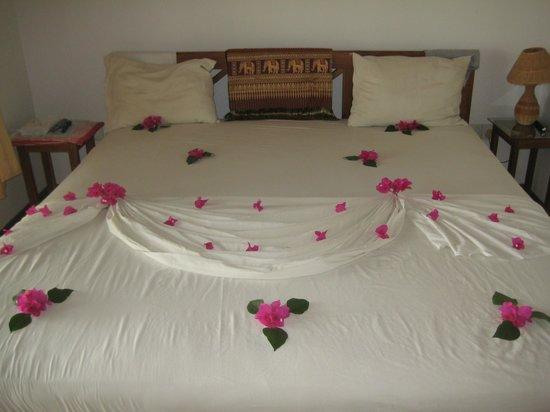 Hibiscus Garden Hotel : Abendgruß des Hauskeeping