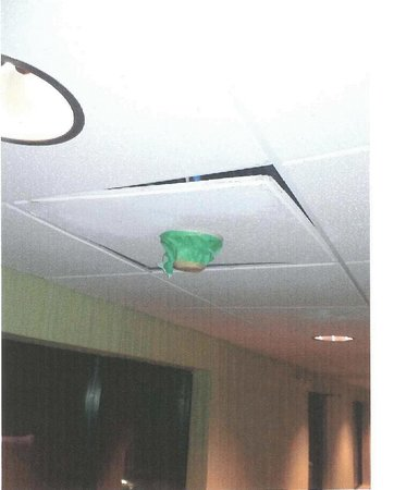 Hampton Inn & Suites South Bend: Smoke detector