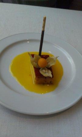 Pando Cuna : tocino de cielo con naranja