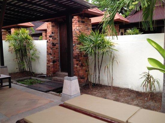 Railay Bay Resort & Spa: patio
