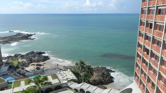 Bahia Othon Palace: Vista impecable