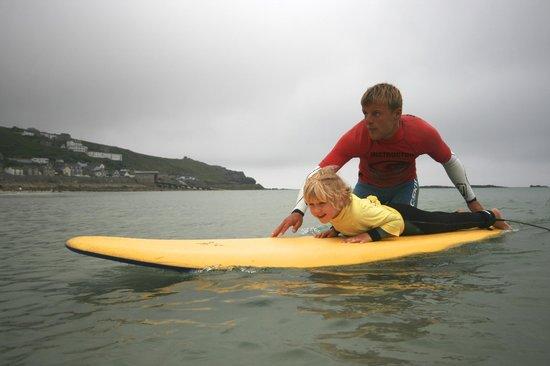 Smart Surf School: Ready to go...