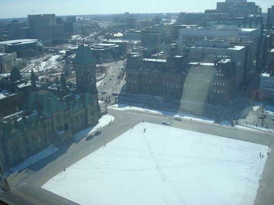Peace Tower: View from the top