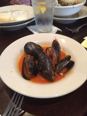 Little Daddy's Gumbo Bar: Mussel Appitizer