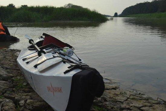 Homestay Sungai Sireh : Der Fluss