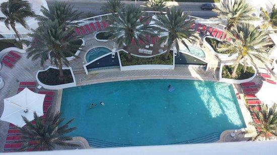 Hilton Fort Lauderdale Beach Resort : View from room 1718. Beautiful resort