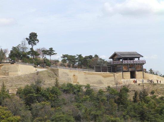 Kinojo Iwaya: 要塞の遠景
