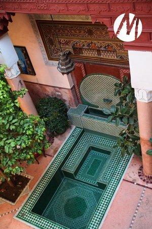 Riad Chorfa: The pool