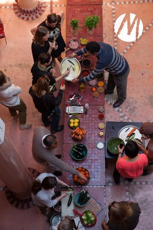Riad Chorfa: From our food course arranged by Sahara Experience